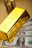 Χρυσός φραγμός, περιβαλλοντική οικονομική έννοια Στοκ Εικόνες