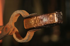 Χρυσός φραγμός Στοκ εικόνα με δικαίωμα ελεύθερης χρήσης