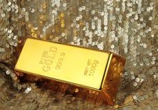 Χρυσός φραγμός Στοκ Εικόνα