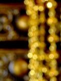 Χρυσός φωτισμού Στοκ Εικόνα