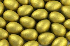 χρυσός φύλλων αλουμινίο&up Στοκ Εικόνες