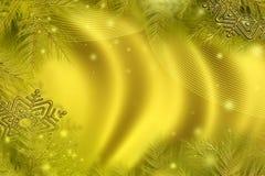 χρυσός Χριστουγέννων Στοκ φωτογραφίες με δικαίωμα ελεύθερης χρήσης