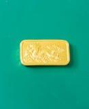 Χρυσός χρυσός φραγμός εξαιρετικής ποιότητας Στοκ εικόνα με δικαίωμα ελεύθερης χρήσης