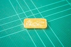 Χρυσός χρυσός φραγμός εξαιρετικής ποιότητας Στοκ Εικόνα