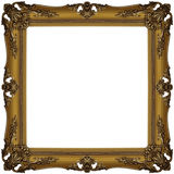 χρυσός 3 πλαισίων Στοκ Εικόνα
