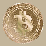 Χρυσός bitcoin Στοκ εικόνες με δικαίωμα ελεύθερης χρήσης