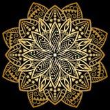 Χρυσός Mandala, υπόβαθρο απεικόνιση αποθεμάτων