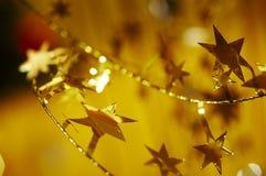 χρυσός srtar Στοκ φωτογραφία με δικαίωμα ελεύθερης χρήσης
