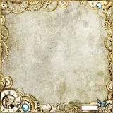 χρυσός steampunk στοκ εικόνες με δικαίωμα ελεύθερης χρήσης