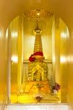 Χρυσός Wat Stupa mountian Στοκ φωτογραφία με δικαίωμα ελεύθερης χρήσης