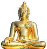 χρυσό άγαλμα Ταϊλανδός του Βούδα Στοκ φωτογραφία με δικαίωμα ελεύθερης χρήσης