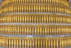 Χρυσό άγαλμα μερών Guan Yin Στοκ εικόνες με δικαίωμα ελεύθερης χρήσης