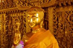 χρυσό άγαλμα Ταϊλανδός το&up Στοκ Εικόνα