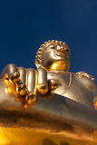Χρυσό άγαλμα του Βούδα Στοκ Εικόνα