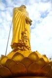 χρυσό άγαλμα του Βούδα στοκ φωτογραφία