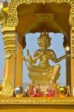 Χρυσό άγαλμα Brahma Στοκ φωτογραφία με δικαίωμα ελεύθερης χρήσης
