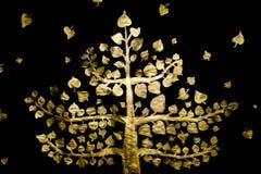 Χρυσό δέντρο Στοκ Εικόνα