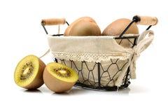 Χρυσό ακτινίδιο kiwifruit/ στοκ φωτογραφία