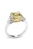 Χρυσό λαμπρό δαχτυλίδι Στοκ φωτογραφίες με δικαίωμα ελεύθερης χρήσης