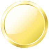 χρυσό απομονωμένο απεικόνιση διανυσματικό λευκό νομισμάτων ανασκόπησης απεικόνιση αποθεμάτων