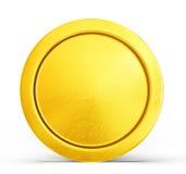 χρυσό απομονωμένο απεικόνιση διανυσματικό λευκό νομισμάτων ανασκόπησης ελεύθερη απεικόνιση δικαιώματος