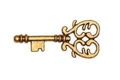 χρυσό απομονωμένο βασικό &lam Στοκ φωτογραφία με δικαίωμα ελεύθερης χρήσης