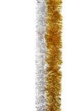 χρυσό ασήμι γιρλαντών Στοκ Φωτογραφία