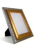 χρυσό ασήμι εικόνων 01 πλαισί& Στοκ φωτογραφία με δικαίωμα ελεύθερης χρήσης