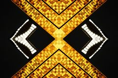 χρυσό ασήμι σχεδίου Διανυσματική απεικόνιση