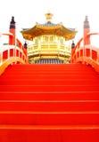 χρυσό ασιατικό κόκκινο πε Στοκ φωτογραφία με δικαίωμα ελεύθερης χρήσης