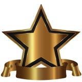 χρυσό αστέρι συλλογής Στοκ Εικόνες