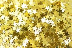 Χρυσό αστέρι Στοκ Φωτογραφία