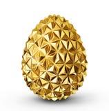 Χρυσό αυγό διανυσματική απεικόνιση
