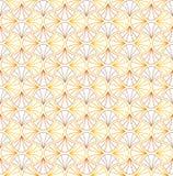 Χρυσό αφηρημένο μοντέρνο διακοσμητικό άνευ ραφής σχέδιο κεραμιδιών Γεωμετρικό υπόβαθρο του Art Deco απεικόνιση αποθεμάτων