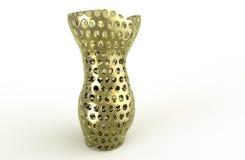Χρυσό βάζο Στοκ φωτογραφία με δικαίωμα ελεύθερης χρήσης