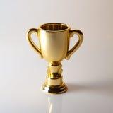 Χρυσό βραβείο φλυτζανιών Στοκ Φωτογραφία