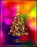 χρυσό γίνοντα snowflakes Χριστουγ Στοκ εικόνες με δικαίωμα ελεύθερης χρήσης