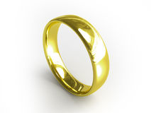 χρυσό δαχτυλίδι διανυσματική απεικόνιση