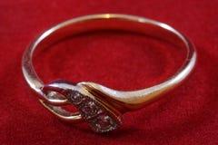 Χρυσό δαχτυλίδι Στοκ Φωτογραφίες