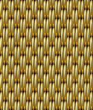 Χρυσό διανυσματικό άνευ ραφής σχέδιο πλέγματος Στοκ φωτογραφίες με δικαίωμα ελεύθερης χρήσης