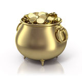 χρυσό δοχείο απεικόνιση αποθεμάτων