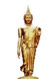 χρυσό ειρηνικό σύμβολο Ταϊλάνδη του Βούδα Στοκ Φωτογραφία