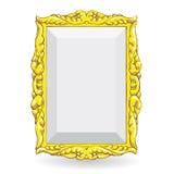 Χρυσό εκλεκτής ποιότητας πλαίσιο Στοκ εικόνα με δικαίωμα ελεύθερης χρήσης