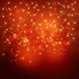 Χρυσό εορταστικό υπόβαθρο Glittery Στοκ φωτογραφία με δικαίωμα ελεύθερης χρήσης