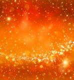 Χρυσό εορταστικό υπόβαθρο Glittery Στοκ φωτογραφίες με δικαίωμα ελεύθερης χρήσης