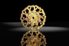 χρυσό ισλαμικό σύμβολο πρ& Στοκ εικόνες με δικαίωμα ελεύθερης χρήσης