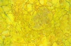 Χρυσό κίτρινο φυσικό άνευ ραφής υπόβαθρο σχεδίων σύστασης πετρών γρανίτη μαρμάρινο Τραχιά φυσική άνευ ραφής μαρμάρινη σύσταση πετ Στοκ εικόνες με δικαίωμα ελεύθερης χρήσης