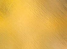 Χρυσό κατασκευασμένο φύλλο αλουμινίου μετάλλων Στοκ Φωτογραφίες