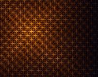Χρυσό καφετί ελαφρύ αφηρημένο σχέδιο - παλαιό υπόβαθρο ύφους Στοκ Εικόνες
