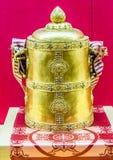 Χρυσό κινεζικό βαρέλι Στοκ Φωτογραφία